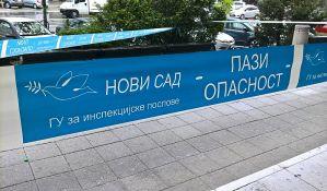 Radnik inspekcije slupao službeni auto u povratku sa predizbornog koncerta SNS