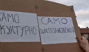 Završen 26. protest protiv diktature u Beogradu, sutra novi