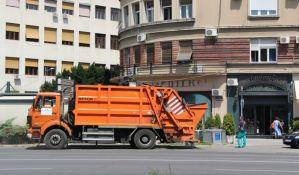 Kasni odnošenje baštenskog otpada zbog tehničkih problema