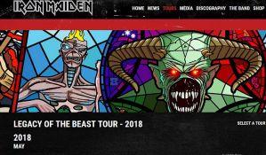 Iron Maiden kreće na evropsku turneju