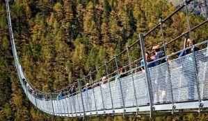 VIDEO: Otvoren najduži viseći most za pešake