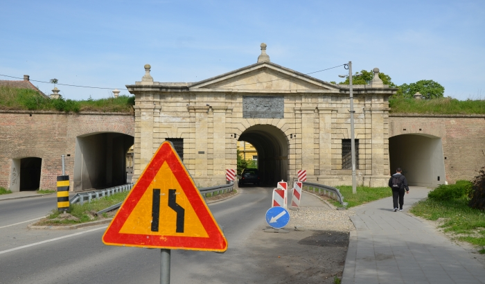 Beogradska kapija zatvorena zbog rekonstrukcije saobraćajnica