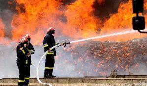 Grom izazvao i požare, stradale životinje