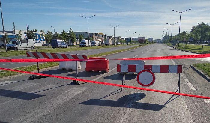 FOTO: Gužve na putevima između Novog naselja i Detelinare zbog radova