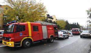 Vatrogasci zbog dima intervenisali u vrtiću u Vojvođanskih brigada, deca nepovređena