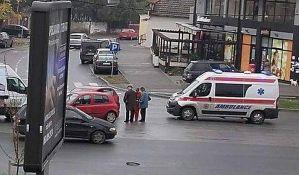 Devojčica povređena u udesu na Putu novosadskog partizanskog odreda