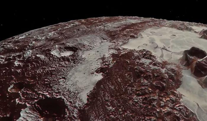 VIDEO: Ovako bi izgledao let iznad Plutona