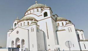 Završeno 90 odsto Hrama Svetog Save