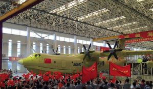 Kineski amfibijski avion obavio prvi let