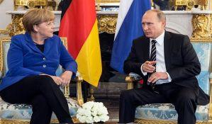 Merkelova s Putinom 2. maja u Sočiju