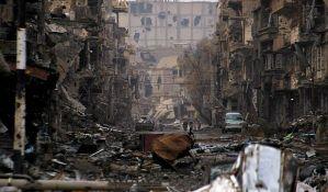 Sedam bolnica van funkcije zbog napada na severu Sirije