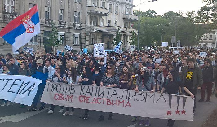 U Beogradu 1. maja protestuju naučnici, sindikati, studenti
