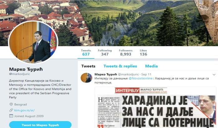Iz budžeta za tvitove Marka Đurića skoro milion dinara