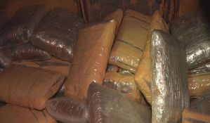 FOTO: Tona skanka zaplenjena kod Bačke Palanke