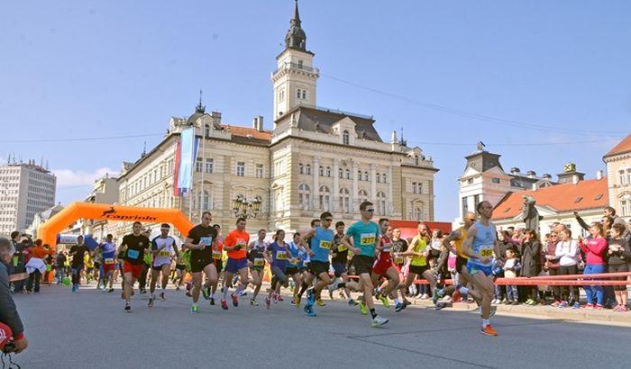 Novosadski polumaraton 1. aprila, trka kreće sa Trga slobode