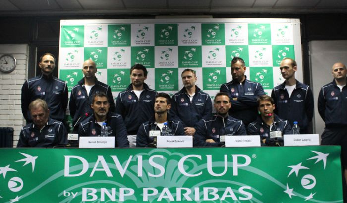 Špancima poen, Srbija na Francusku u polufinalu Dejvis kupa