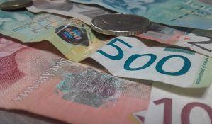 Najviše lažnih novčanica od 2.000, 1.000 i 500 dinara