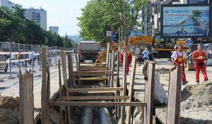 FOTO: Počeli radovi kod Futoške pijace, za sada bez većih gužvi