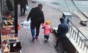 VIDEO: Na ulici pokušao da otme dete od oca