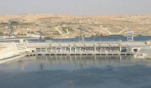 Srušen deo najveće brane u Siriji