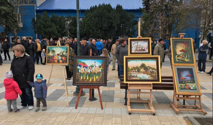 Kovačica: Otvorena izložba naivnog slikarstva