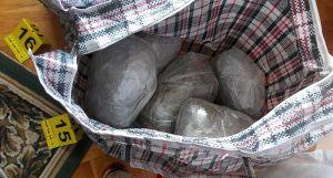 FOTO: Novosadska policija zaplenila 11 kg marihuane, pištolj i municiju