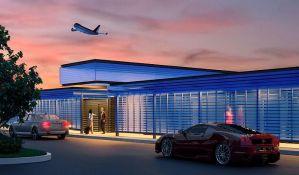 FOTO: Slavni dobili poseban terminal na aerodromu u Los Anđelesu