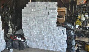 FOTO: Zrenjaninska policija zaplenila cigarete vrednosti 3,5 miliona dinara