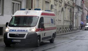 Dvojica povređenih u udesima u Braće Ribnikar i na Detelinari