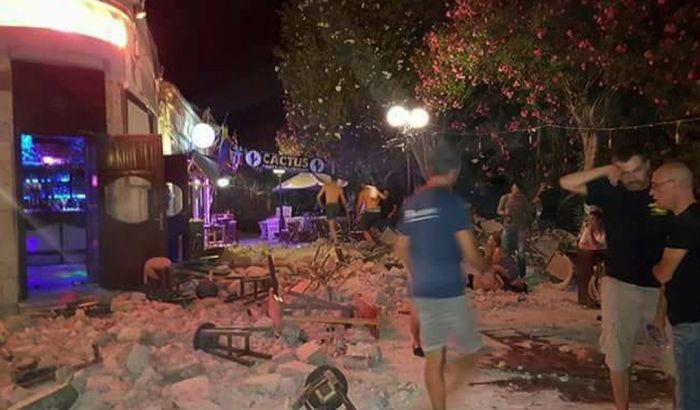 VIDEO: Jak zemljotres između Grčke i Turske, dvoje mrtvih