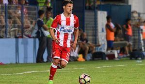 Zvezda se s golom zaostatka vraća iz Krasnodara