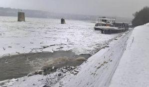 Zaleđen Dunav onemogućio izvoz, šteta milionska