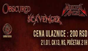Metal svirka 21. januara u CK13
