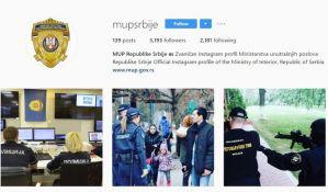 Šta ako vas MUP Srbije zaprati na Instagramu?