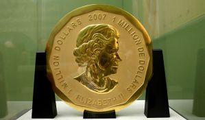 Ukraden zlatnik težak sto kilograma