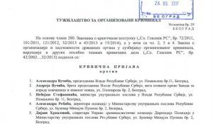 Radulović: Krivična prijava protiv braće Vučić zbog nasilnog preuzimanja firmi i veza sa podzemljem