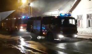 VIDEO: Požar u Futogu, povređen muškarac