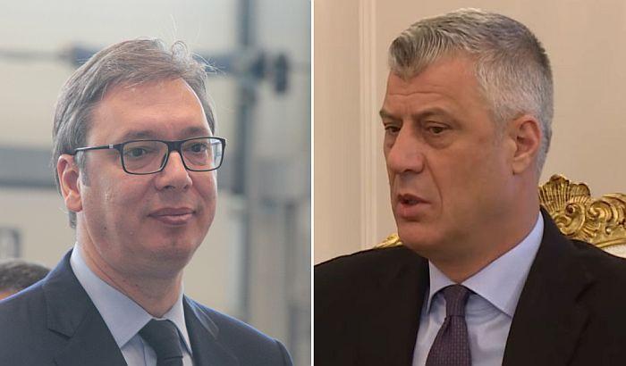 Završeni razgovori Vučića, Tačija i Mogerini u Briselu