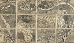 Karta sveta plaćena milione nije original