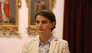 Ana Brnabić uputila izvinjenje Grupi za slobodu medija