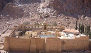 Otvorena obnovljena biblioteka manastira Sveta Katarina