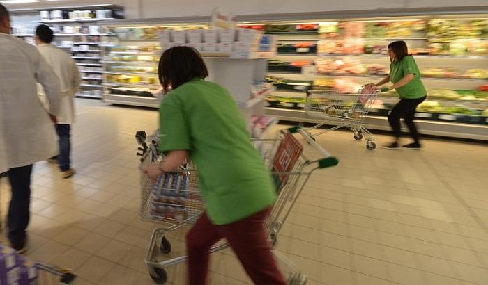 VIDEO: Karlo Vojinov osvojio kolica puna hrane u Univereksportu