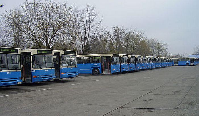 Izmene trase autobusa GSP-a zbog radova na Detelinari