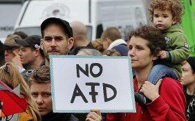 VIDEO: Stotine na ulicama Berlina u protestu protiv desničarske partije AfD
