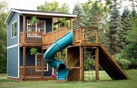 FOTO: Otac ćerkama napravio kućicu za igru lepšu od mnogih stanova