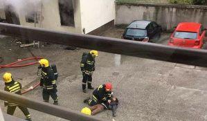 Mladić povređen u požaru na Rotkvariji