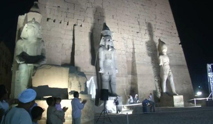 VIDEO: Otkrivena ogromna statua Ramzesa Drugog