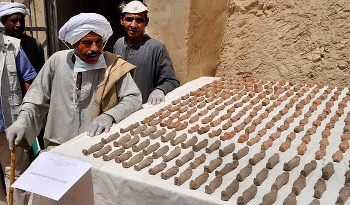 VIDEO: Arheolozi otkrili 1.000 statua i 10 sarkofaga u Luksoru