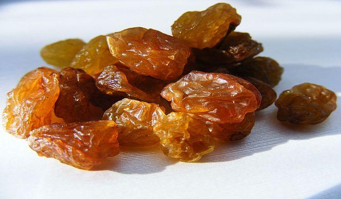 Suvo grožđe pomaže u lečenju anemije