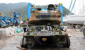 Potapa se tenk da bi koristio kao turistička atrakcija